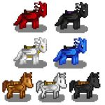 Horses to Dragons/Pegasi Mod for Stardew Valley