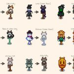 Kitty Scarecrow Replacements Mod for Stardew Valley