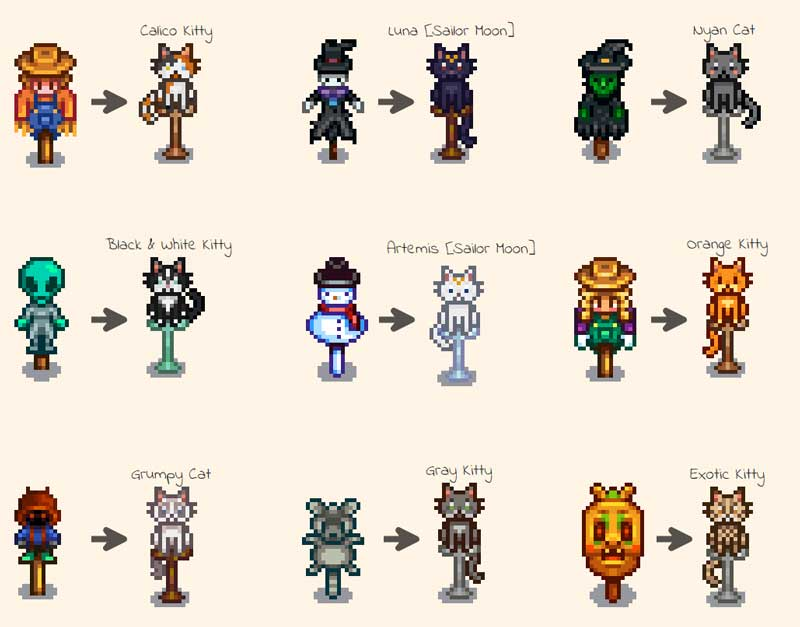 how to make a scarecrow stardew valley