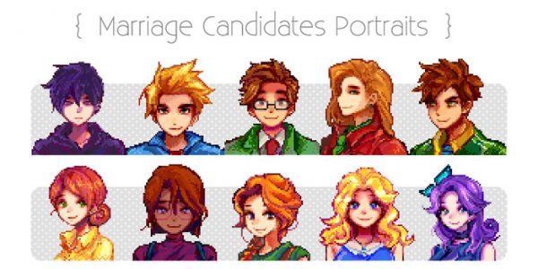 Marriage Candidates Portraits