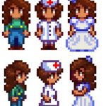 Maru Replacer Mod for Stardew Valley