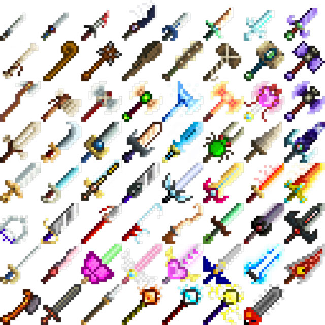 Nightmare's Additional Weaponry Mod for Stardew Valley