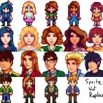 Overhauled Marriage Candidates Mod for Stardew Valley