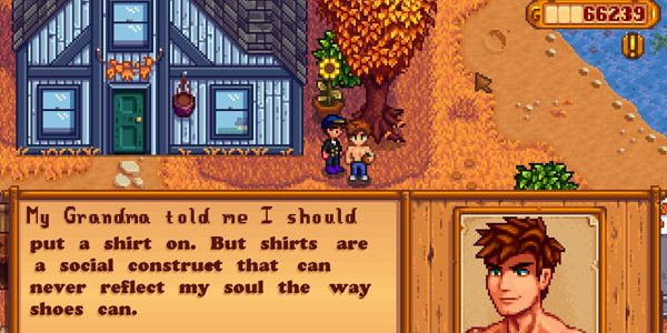 what does alex like in stardew valley
