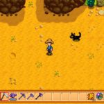 Simple Black Cat Mod for Stardew Valley