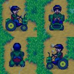 Tractor – Horse Replacement Mod for Stardew Valley