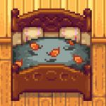 Beds Recolor Mod for Stardew Valley