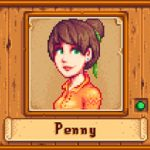 Brunette Penny Mod for Stardew Valley
