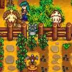 Goat With Horns Mod for Stardew Valley
