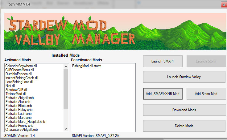 Manager Mod