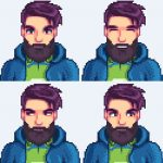 Bearded Shane Mod for Stardew Valley