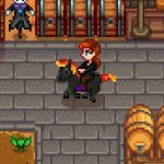 Black Fire Horse Mod for Stardew Valley