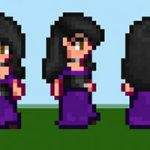Female Long Dress Mod for Stardew Valley