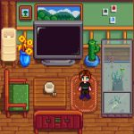 Fish Tank Table Mod for Stardew Valley
