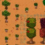 Fruit Trees With Signs Mod for Stardew Valley