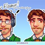 Handsome Harvey Mod for Stardew Valley