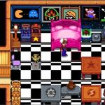 Nintendo Themed Furniture Wallpaper Mod for Stardew Valley