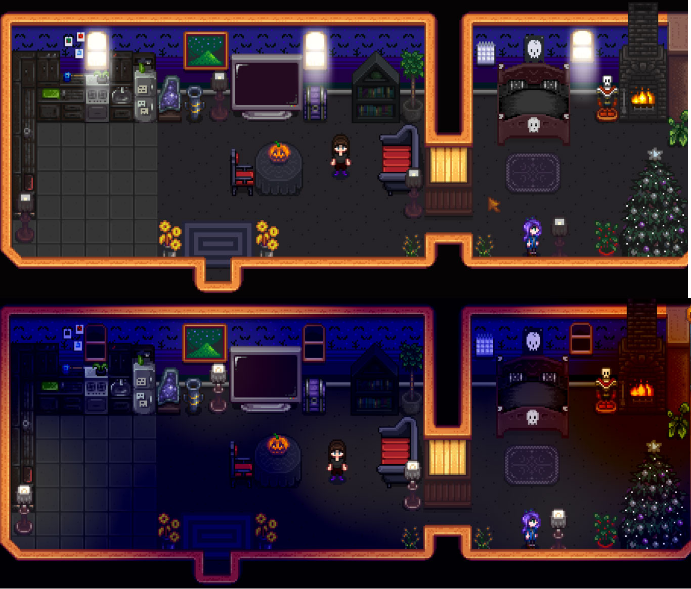 Spooky Interior Decoration Mod For Stardew Valley