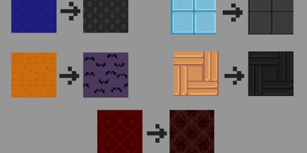 Spooky Wallpapers and Floorings Mod