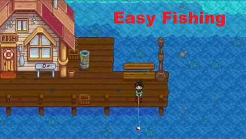 Super Easy Fishing Mod