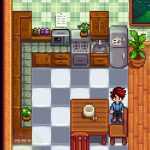 Tiled Counter Kitchen Edit Mod for Stardew Valley
