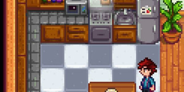 Tiled Counter Kitchen Edit Mod3