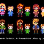 Babies Like Parents Mod for Stardew Valley