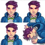 Another Shane Portrait Mod for Stardew Valley