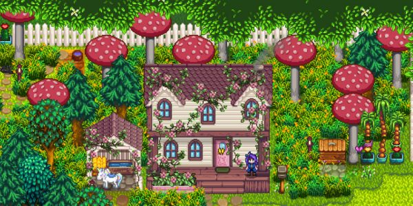 Overgrown Fairy Buildings Mod