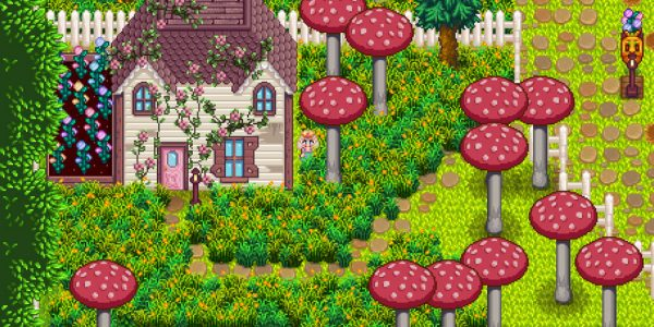 Overgrown Fairy Buildings Mod 3