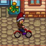 Ridable Bike Mod for Stardew Valley