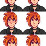 Sebastian Ginger Mod for Stardew Valley