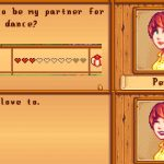 Three Heart Flower Festival Dance Partners Mod for Stardew Valley