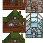 Timid's Home Brick and Spruce Mod for Stardew Valley